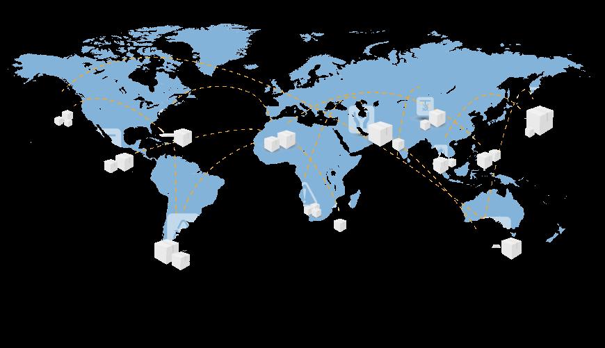 Comparison of international parcel shipment services